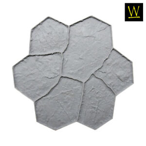 New Random Stone Single Concrete Stamp By Walttools floppy flex