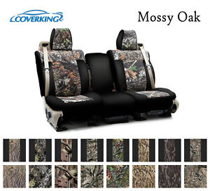 Coverking Custom Front Row Seat Covers Neosupreme Mossy Oak Camo Choose Color