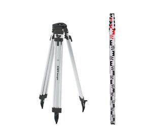 Cst 60 alqci20 b Tripod 4 Meter Metric Rod For Auto Level Rotating Laser