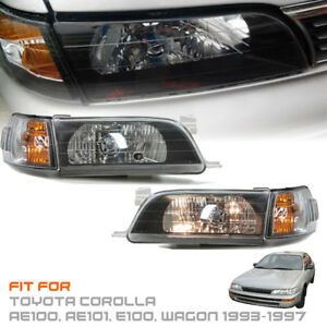 Headlight Front Lamp For Toyota Corolla Ae100 Ae101 E100 Wagon 1993 1997