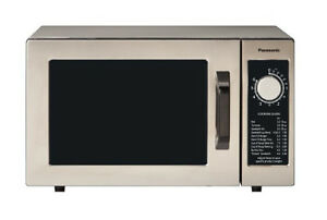Panasonic Ne 1025f Pro Commercial Microwave Oven 1000w W Dial Timer