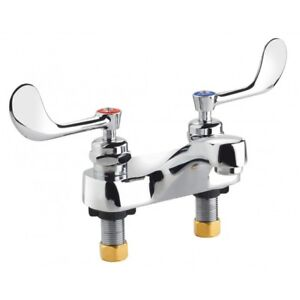 Krowne Metal 14 540l Royal Series Medical Lavatory Deck Mount Faucet