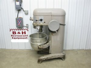Hobart H 600 Heavy Duty Bakery Dough Mixer 60 Qt W Bowl Hook