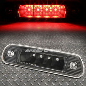 For 99 04 Jeep Grand Cherokee Wj Led Third 3rd Tail Brake Light Stop Lamp Black