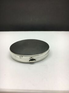 Tiffany Co Vintage Sterling Silver Compact Makeup Case