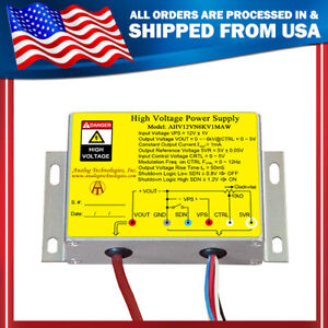 High Voltage Power Supply Dc dc Conversion 6kv Negative Voltage Output From Usa