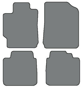 4pc Custom fit Carpet Floor Mats choice Of Color For 2007 2011 Toyota Camry