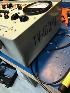 Hickok Military Tv 10 Tv10 all Versions Tube Tester Calibration Service