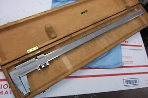 This Is A 27 Cse Verner Caliper Made In Germany V Good Cond In Wood Box