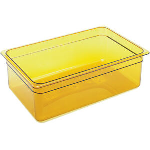 Cambro 16hp 150 6in H Full Size High Heat Food Pan Amber Nsf