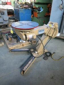 Irco Welding Positioner 24 Faceplate