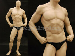 Big Muscle Male Mannequin Dress Form Display md manf