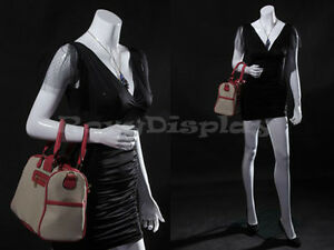 Female Fiberglass Headless Style Mannequin Dress Form Display mz lisa7bw