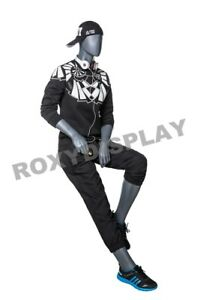 Male Fiberglass Abstract Style Mannequin Dress From Display mz mg002