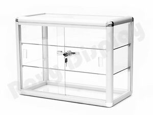 Glass Countertop Display Case Store Fixture Showcase sc kdtop