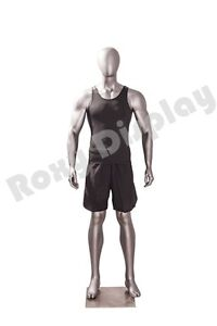 Male Fiberglass Sport Athletic Style Mannequin Dress Form Display mc jsm01