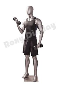 Male Fiberglass Sport Athletic Style Mannequin Dress Form Display mc jsm04