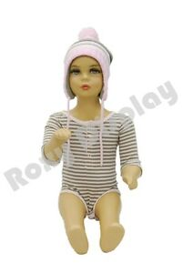 Child Plastic Realistic Mannequin Dress Form Display ps kd 10