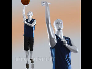 Male Fiberglass Basketball Player Style Mannequin Display mz y3