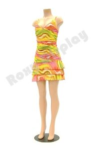 Female Headless Plastic Mannequin Brazilian Hip Style Without Arm Ps ff202