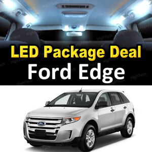 10x Whlte Led Lights Interior Package Deal For 2007 2012 2013 2014 Ford Edge