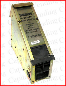 Rowe Bill Changer Hopper Oem 6 50276 08 High Capacity Bc 35 100 1200 3500