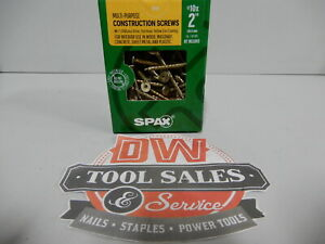 Spax Screws Made In Usa 2 Interior Flat Head 10 5lbs