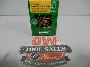 Spax Screws Made In Usa 2 1 2 Interior Flat Head 10 5lbs