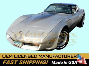 1982 C3 Corvette Collectors Edition Hood Only Fader Decal Stripe