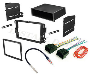 Chevy Gmc Complete Radio Stereo Install Dash Kit Plus Wire Harness Ant Adapter