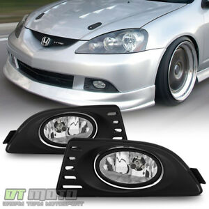 2005 2006 2007 Acura Rsx Bumper Fog Lights Driving Lamps switch relay Left right