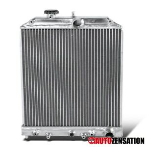 For 1992 2000 Honda Civic Del Sol Automatic Transmission Aluminum Radiator