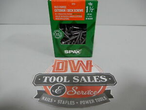 Spax Screws Made In Usa 1 1 2 Hcr x Exterior 8 5lbs