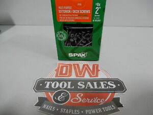 Spax Screws Made In Usa 2 Hcr x Exterior 8 5lbs