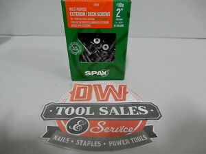 Spax Screws Made In Usa 2 Hcr x Exterior 10 5lbs