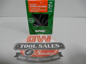 Spax Screws Made In Usa 3 1 2 Hcr x Exterior 10 5lbs