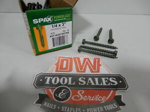 Spax Screws Made In Usa 1 4 X 3 Hex Washer Head Powerlags Exterior