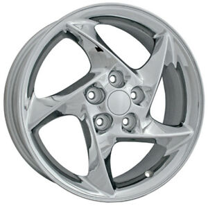 06566 Replacement 17x6 5 Alloy Wheel Chrome Plated
