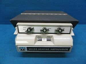 Maico Hearing Instruments Iso 1964 Portable Audiometer tested