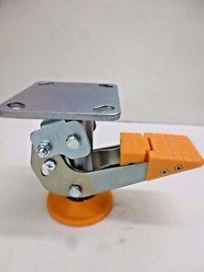 New Floor Lock Top Plate 5 Caster Fl lkh 5
