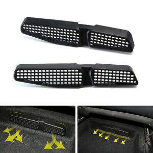 Under Front Seat Air Vent Cover Grilles For 2015 Up Volkswagen Golf Mk7 Gti Etc