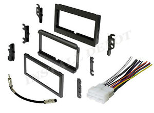 Complete Radio Stereo Installation Dash Kit Plus Wire Harness Antenna Adapter