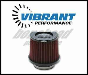 Vibrant 10921 The Classic Performance Air Filter 2 5 Inlet Diameter
