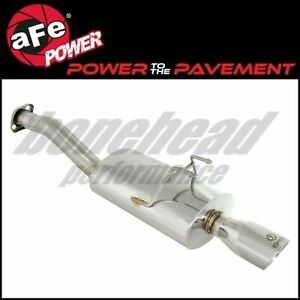 Afe Power 49 36603 Stainless Takeda Axle Back Exhaust 2012 2015 Honda Civic 1 8l