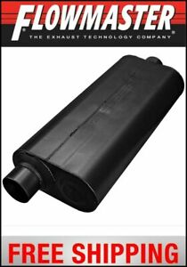 Flowmaster Universal 70 Series Muffler 3 Offset In 3 Center Out