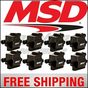 Msd Ignition Coil Street Fire Gm L series Truck 99 09 8 pack