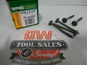 Spax Screws Made In Usa 5 16 X 3 1 2 Washer Head Star Drive Exterior