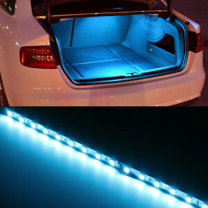 Iceblue 18 Smd Led Strip Light For Car Trunk Cargo Area Or Interior Illumination