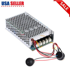Programable Reversible Dc Motor Speed Controller Pwm 12v 24v 100a 3000w Us Stock
