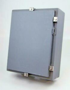 Hoffman Hinged Cover With Backplate Type 4 Enclosure A 20h16alp
